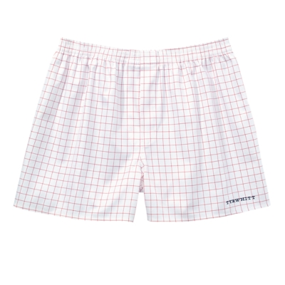 Charles Tyrwhitt Classic Red Twill Check Sea Island Boxer Short product image