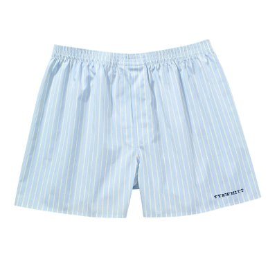 Charles Tyrwhitt Sky And Lemon Stripe Sea Island Boxer Short product image
