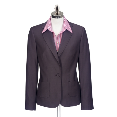 Charles Tyrwhitt Navy Lightweight Wool Jacket