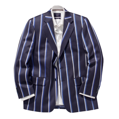 Gap Women's Blue and White Striped Seersucker Blazer, Size 14, NEW WITH TAGS See more like this.