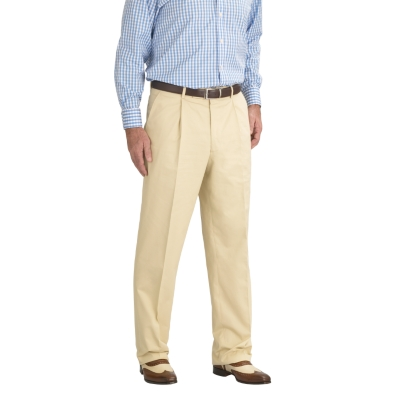 Charles Tyrwhitt Stone Cotton Suit Trousers