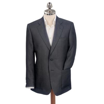 Charles Tyrwhitt Black Linen Suit Jacket