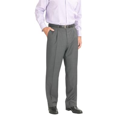 Charles Tyrwhitt Light Grey Lightweight Wool Trousers